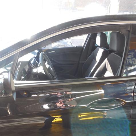 Farad Mini Deflectors 43TO00645 deflettori dAria Anteriori per Auto e furgoni