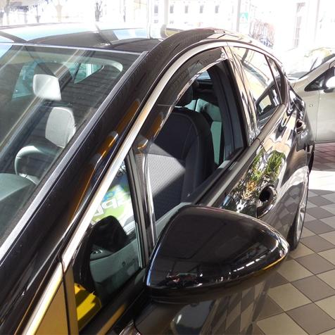 Farad Mini Deflectors 43TO00815 deflettori dAria Anteriori per Auto e furgoni
