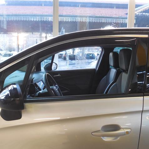 Farad Mini Deflectors 43ME00336 deflettori dAria Anteriori per Auto e furgoni